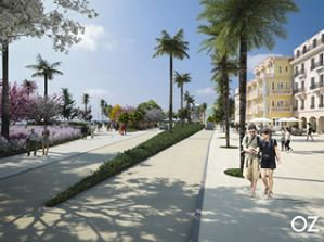 Port City Oranjestad project