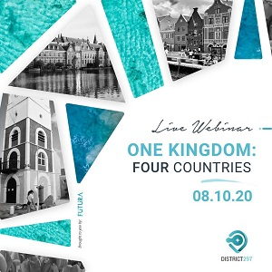 Webinar - One Kingdom Four Countries (Un Reino: 4 pais)